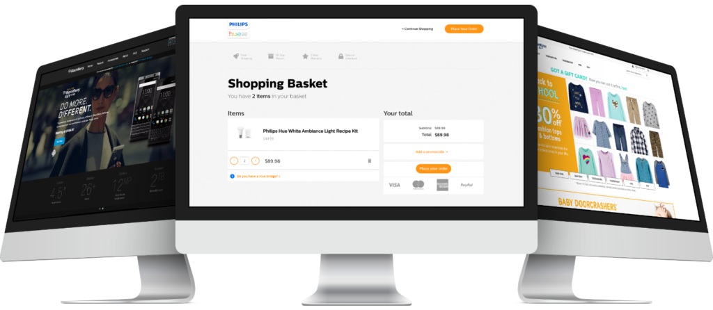 Scalable, Brand Enhancing Digital Webstores